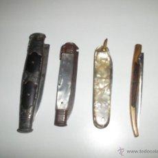 Militaria: LOTE DE 4 NAVAJAS. Lote 43260319