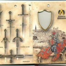 Militaria: REPRODUCCION DE LA ESPADA EXCALIBUR DEL REY ARTURO ARMADURAS MEDIEVALES TOLEDO . Lote 46037218