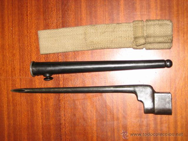 BAYONETA UK PINCHO INGLESA ORIGINAL. (Militar - Armas Blancas Originales de Fabricación Posterior a 1945)