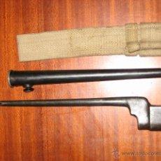 Militaria: BAYONETA UK PINCHO INGLESA ORIGINAL.. Lote 235549830