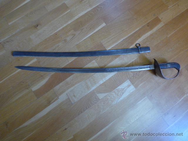 Militaria: SABLE OFICIAL CABALLERIA MODELO 1878 () - Foto 18 - 46335311