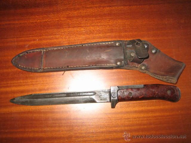 BAYONETA CHECA SAMOPAL (Militar - Armas Blancas Originales de Fabricación Posterior a 1945)