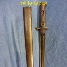 Militaria: BAYONETA PORTUGUESA PARA EL MAUSER VERGUEIRO MODELO 1904. FABRICADA EN ALEMANIA POR SIMSON CO & SUHL. Lote 48518845