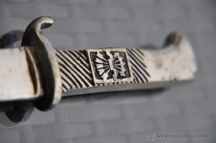PUÑAL DE FALANGE DE BALILLA G.C. (Militar - Armas Blancas Originales de Fabricación Posterior a 1945)