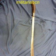 Militaria: BOLO MACHETE FILIPINO. UTILIZADO DURANTE EL SIGLO XIX EN LAS ISLAS VISAYAN Y EN LUZÓN. 67 CM.. Lote 49107430