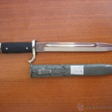 Militaria: BAYONETA AK 98 PLATEADA ,DE PARADA.. Lote 49245132
