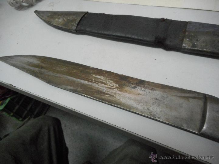 Militaria: dificil bayoneta cuchillo machete con marcaje 8girodias - Foto 13 - 50532055