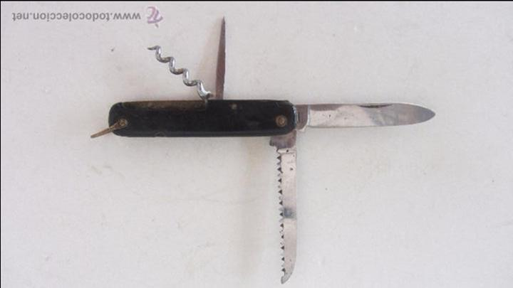 NAVAJA DE PAYA (Militar - Armas Blancas Originales de Fabricación Posterior a 1945)