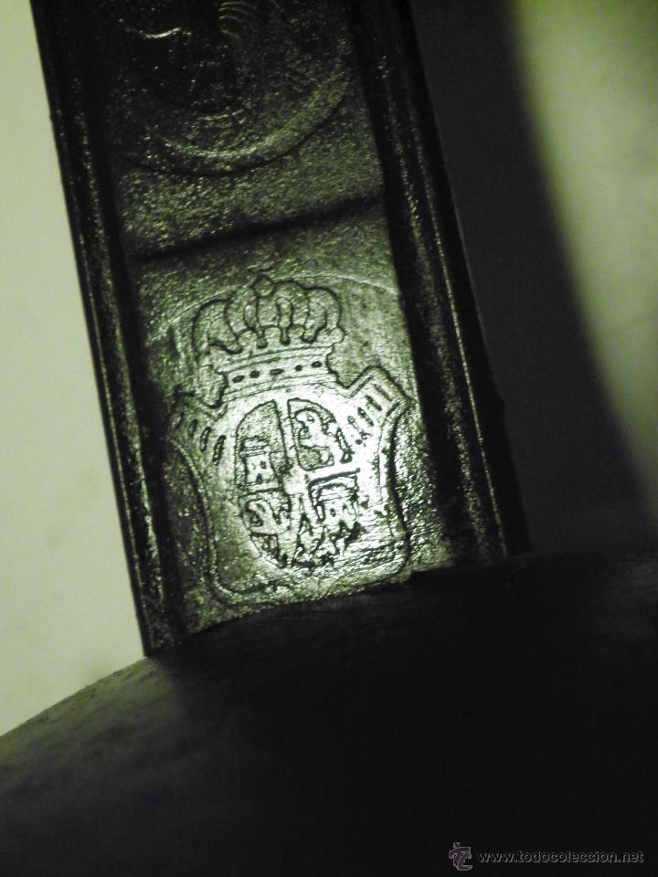 Militaria: SABLE de CABALLERIA: ORIGINAL Fabrica Toledo 1860 - Foto 4 - 50890381