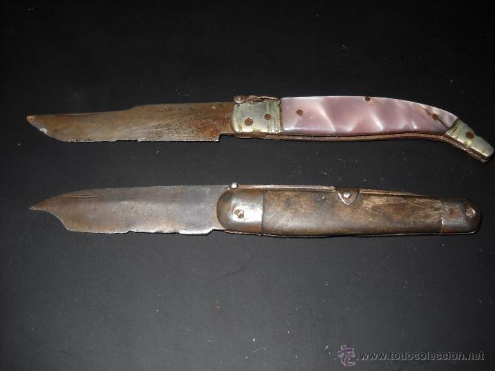 NAVAJAS ANTIGUAS (Militar - Armas Blancas Originales de Fabricación Posterior a 1945)