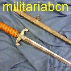 Militaria: ALEMANIA III REICH. DAGA DE OFICIAL DE LA WEHRMACHT. HOLLER TIPO 4.. Lote 52658122