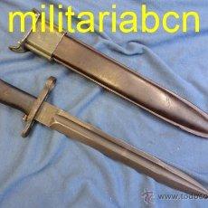 Militaria: ESTADOS UNIDOS. BAYONETA CUCHILLO PARA EL FUSIL CALIBRE .30-06 RIFLE M1GARAND. 2ª GUERRA MUNDIAL.. Lote 52675331