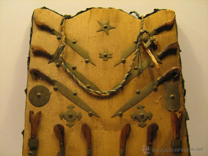 Militaria: Panoplia antigua armas Filipinas espada kris barong ... - Foto 2 - 52960299