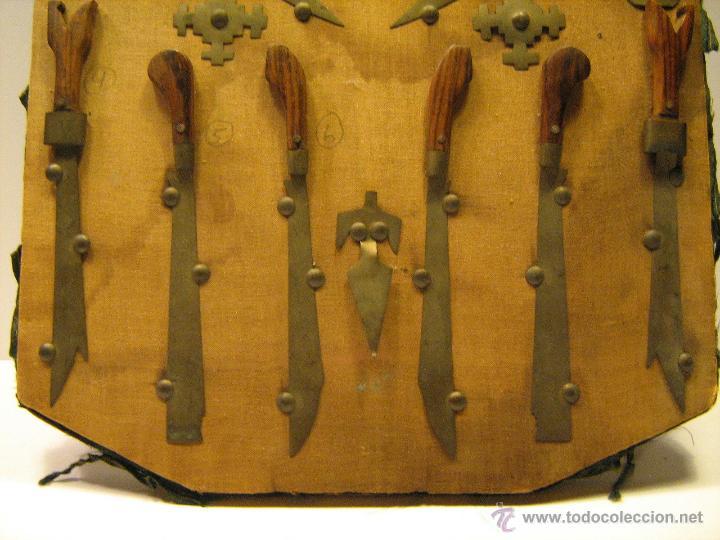 Militaria: Panoplia antigua armas Filipinas espada kris barong ... - Foto 5 - 52960299