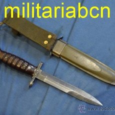 Militaria: HOLANDA. BAYONETA M4 PARA LA CARABINA M1 GARAND DESPUÉS DE LA 2ª GUERRA MUNDIAL.. Lote 52995338