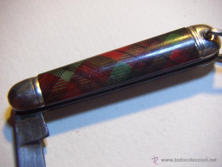Militaria: Navaja de Tatanware escocés vintage firmado Richards Sheffield Inglaterra - Foto 3 - 53616044
