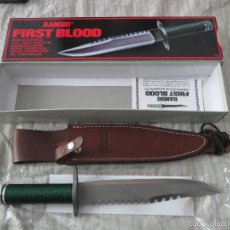 Militaria: CUCHILLO RAMBO FIRST BLOOD UNITED CUTLERLY. Lote 56899136