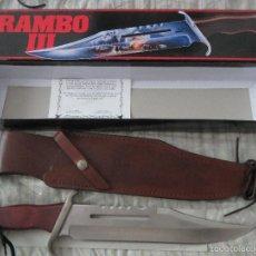Militaria: CUCHILLO RAMBO 3 UNITED CUTLERLY NUEVO. Lote 235096720