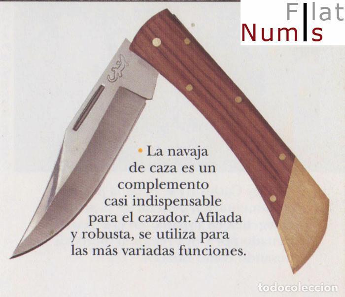 Nº 9 - NAVAJA ESTILO ESPAÑOL - DE CAZADOR - HOJA DE ACERO (Militar - Armas Blancas Originales de Fabricación Posterior a 1945)