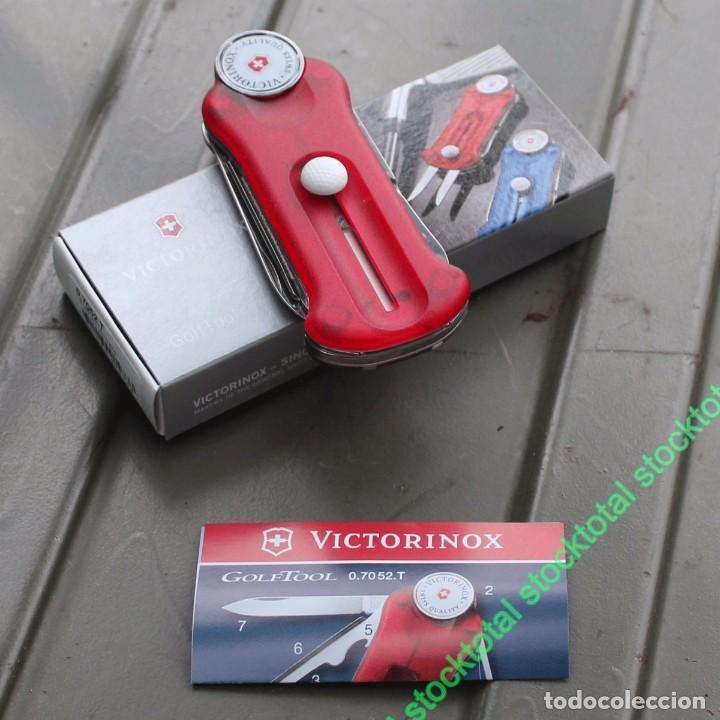Militaria: VICTORINOX GOLF-TOOL TRANSPARENTE Swiss Army Knife Deportes Golf 07052.T - Foto 2 - 69622809