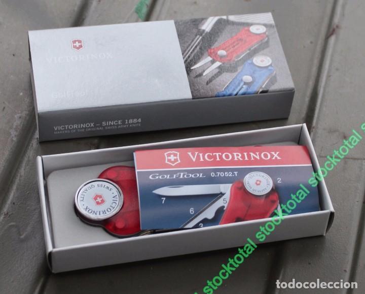Militaria: VICTORINOX GOLF-TOOL TRANSPARENTE Swiss Army Knife Deportes Golf 07052.T - Foto 3 - 69622809
