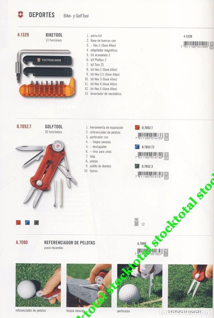 Militaria: VICTORINOX GOLF-TOOL TRANSPARENTE Swiss Army Knife Deportes Golf 07052.T - Foto 5 - 69622809