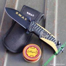 Militaria - navaja SWAT. hoja: 8.2 cm + LATITA GRASA PARA NAVAJAS 19744 - 75770571