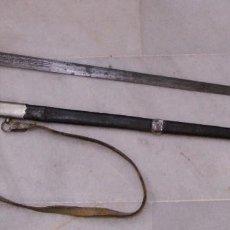 Militaria: SABLE O ESPADA DE CABALLERÍA DE LINEA. HACIA 1814. GUERRA INDEPENDENCIA. CON VAINA. CON INSCRIPCIÓN.. Lote 79788605