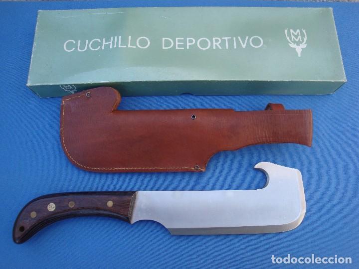 Militaria: CUCHILLO DE CAZA MUELA MODELO HACHETA -DESCATALOGADO. - Foto 2 - 83039104