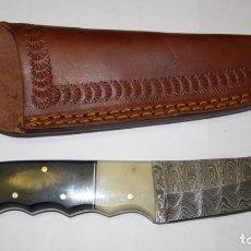 Military - Cuchillo de acero de Damasco. - 85544964