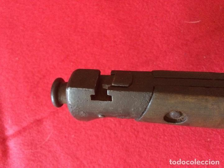 Militaria: Bayoneta Carcano. Modelo poco comun. - Foto 2 - 86379620