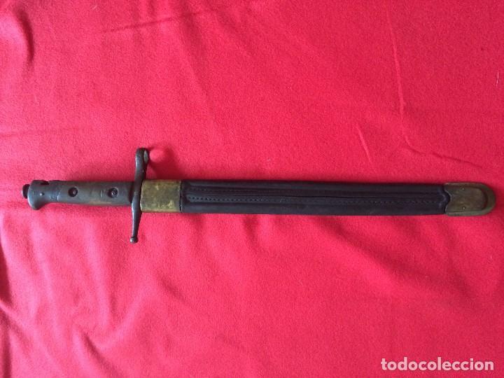 Militaria: Bayoneta Carcano. Modelo poco comun. - Foto 5 - 86379620