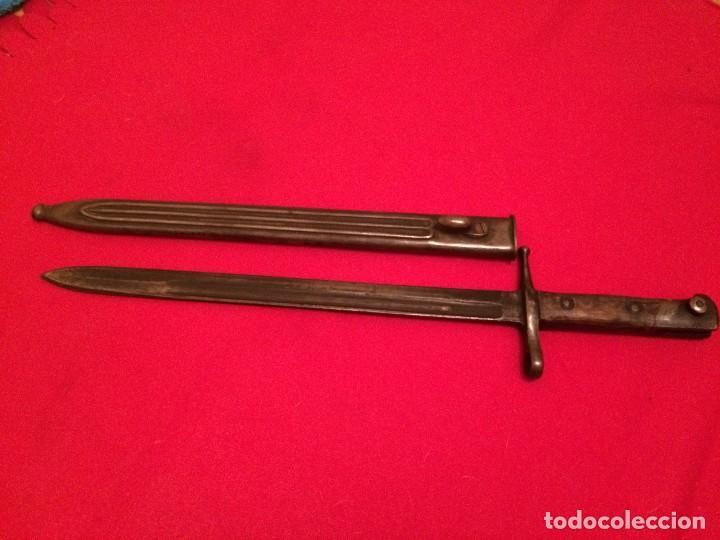BAYONETA CARCANO (Militar - Armas Blancas Originales Fabricadas entre 1851 y 1945)