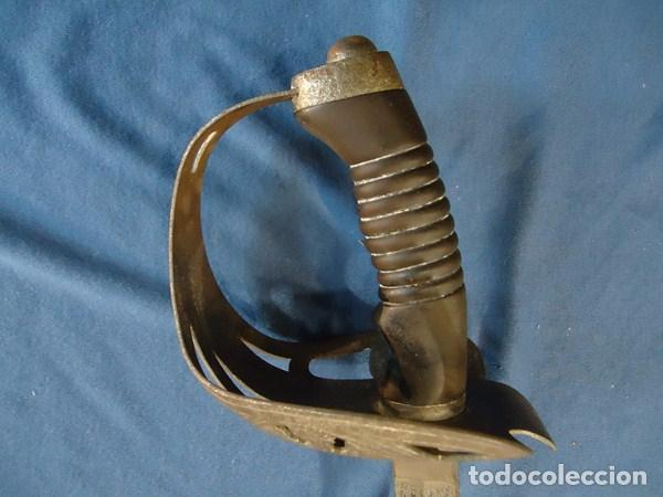 Militaria: Alemania Imperial. Espada de Oficial de Caballería de Prusia modelo 89. Hoja grabada Schlesw. Holst. - Foto 4 - 86844344