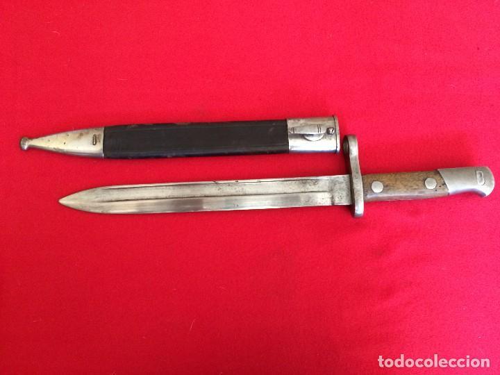 BAYONETA ESPAÑOLA 1893 FABRICA DE TOLEDO (Militar - Armas Blancas Originales Fabricadas entre 1851 y 1945)