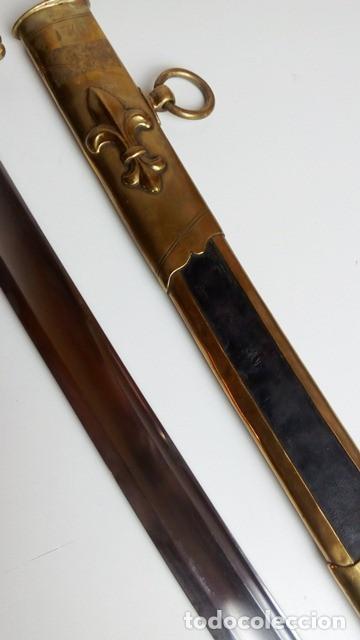Militaria: Sable para oficial de caballería, a capricho, Restauración Borbónica, hacia 1820. - Foto 6 - 91261810