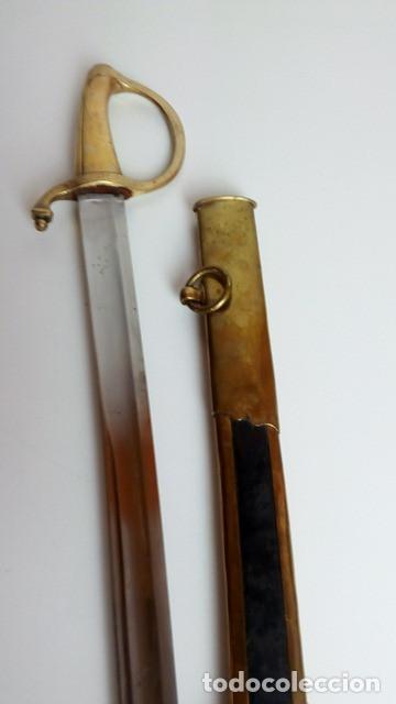 Militaria: Sable para oficial de caballería, a capricho, Restauración Borbónica, hacia 1820. - Foto 9 - 91261810