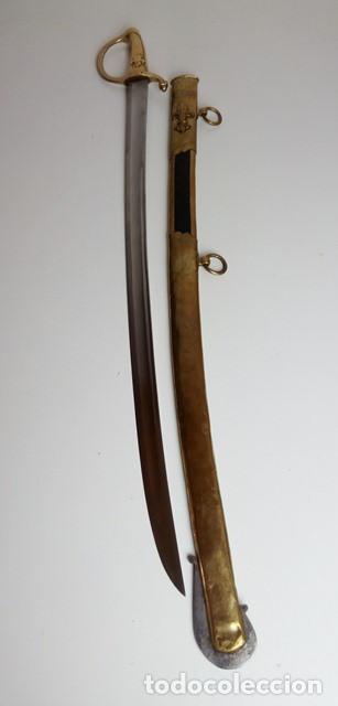 Militaria: Sable para oficial de caballería, a capricho, Restauración Borbónica, hacia 1820. - Foto 11 - 91261810