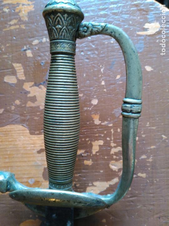 Militaria: Antigua espada de ceñir o sable original de oficial 1ª republica española 431,00 € - Foto 3 - 94220400