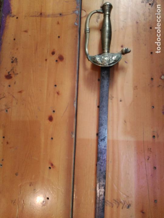 Militaria: Antigua espada de ceñir o sable original de oficial 1ª republica española 431,00 € - Foto 4 - 94220400