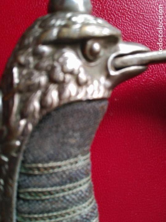 Militaria: MAGNIFICO SABLE OFICIAL GUERRA PACIFICO LONGITUD CON VAINA 95 cm.espada ceñir SIGLO XIX 584,00 € - Foto 8 - 94223740