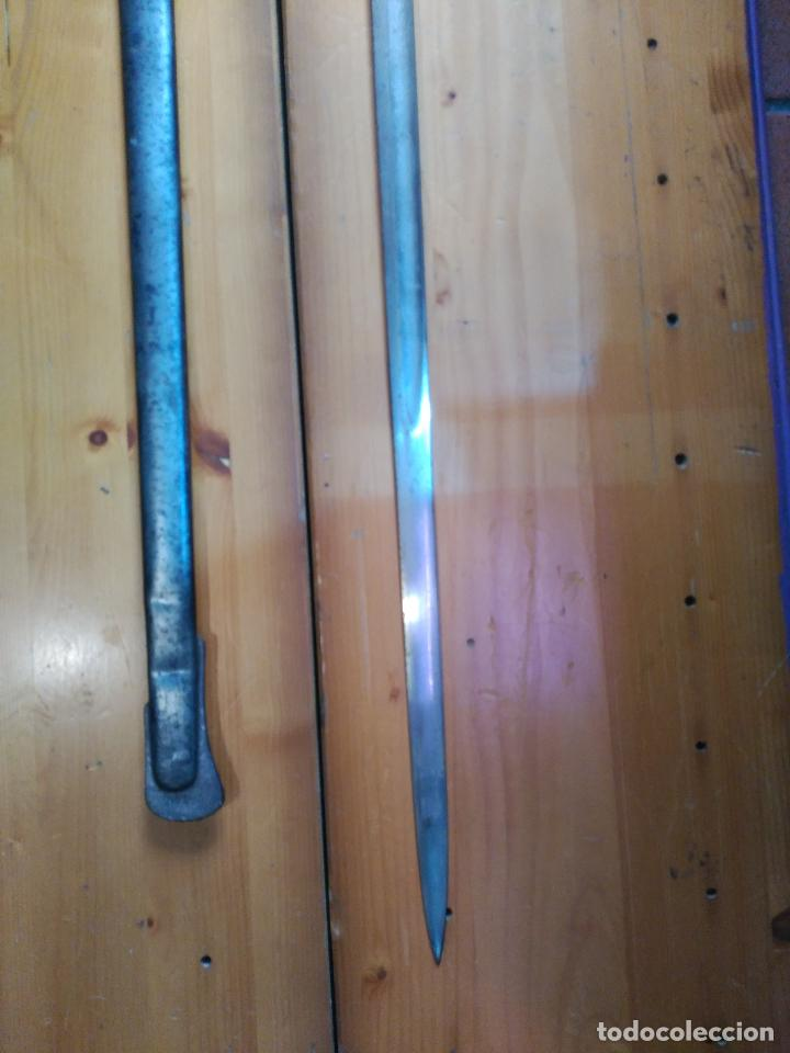 Militaria: MAGNIFICO SABLE OFICIAL GUERRA PACIFICO LONGITUD CON VAINA 95 cm.espada ceñir SIGLO XIX 584,00 € - Foto 11 - 94223740