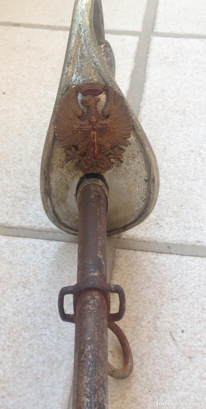 Militaria: SABLE PUERTO SEGURO MOD- 1909, PARA TROPA. Marcado Fabrica de Toledo. - Foto 3 - 95480810