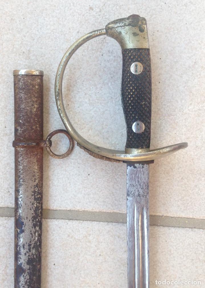 Militaria: SABLE PUERTO SEGURO MOD- 1909, PARA TROPA. Marcado Fabrica de Toledo. - Foto 5 - 95480810