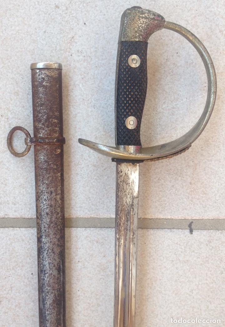 Militaria: SABLE PUERTO SEGURO MOD- 1909, PARA TROPA. Marcado Fabrica de Toledo. - Foto 6 - 95480810