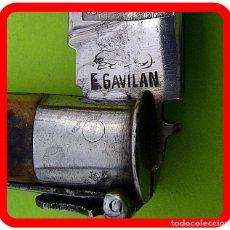 Militaria: ANTIGUA NAVAJA STA. CRUZ DE MUDELA - EUSEBIO GAVILAN. Lote 95688611