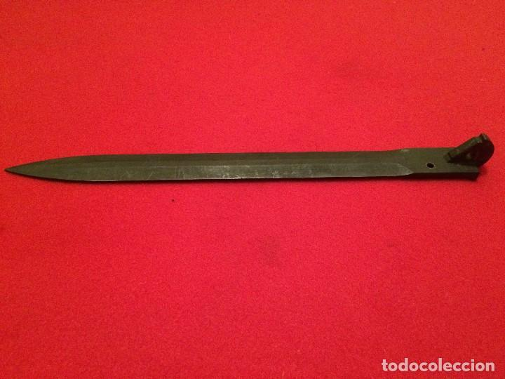 Militaria: bayoneta plegable checa vz52 - Foto 2 - 96856195