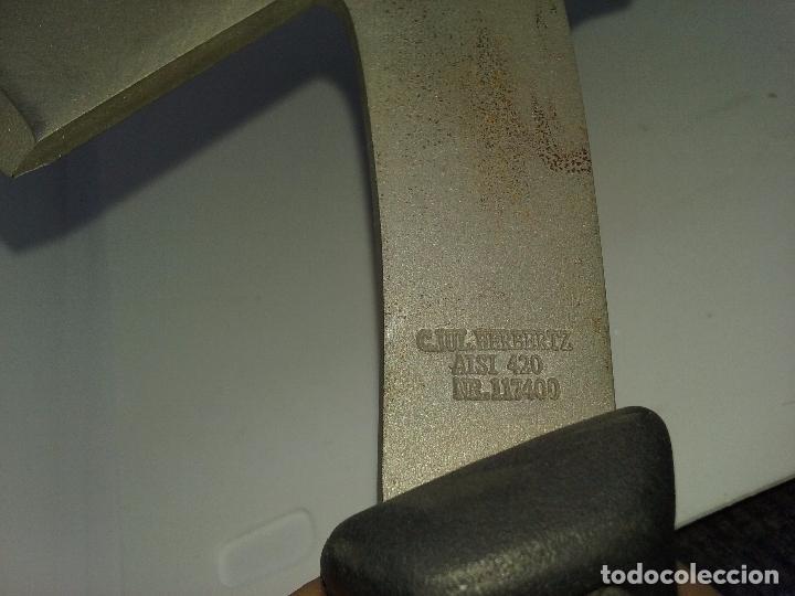 Militaria: EQUIPO DE HACHA Y CUCHILLO CON FUNDA. ACERO ALEMAN. C. JUL. HERBERTZ AISI 420 117400 - Foto 6 - 131474977
