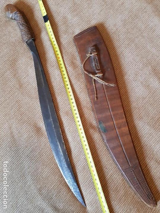 ESPADA ANTIGUA TALIBON FILIPINAS CUCHILLO (Militar - Armas Blancas Originales Fabricadas entre 1851 y 1945)