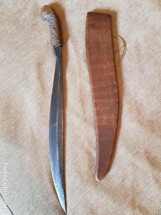 Militaria: Espada antigua talibon Filipinas cuchillo - Foto 2 - 99509671